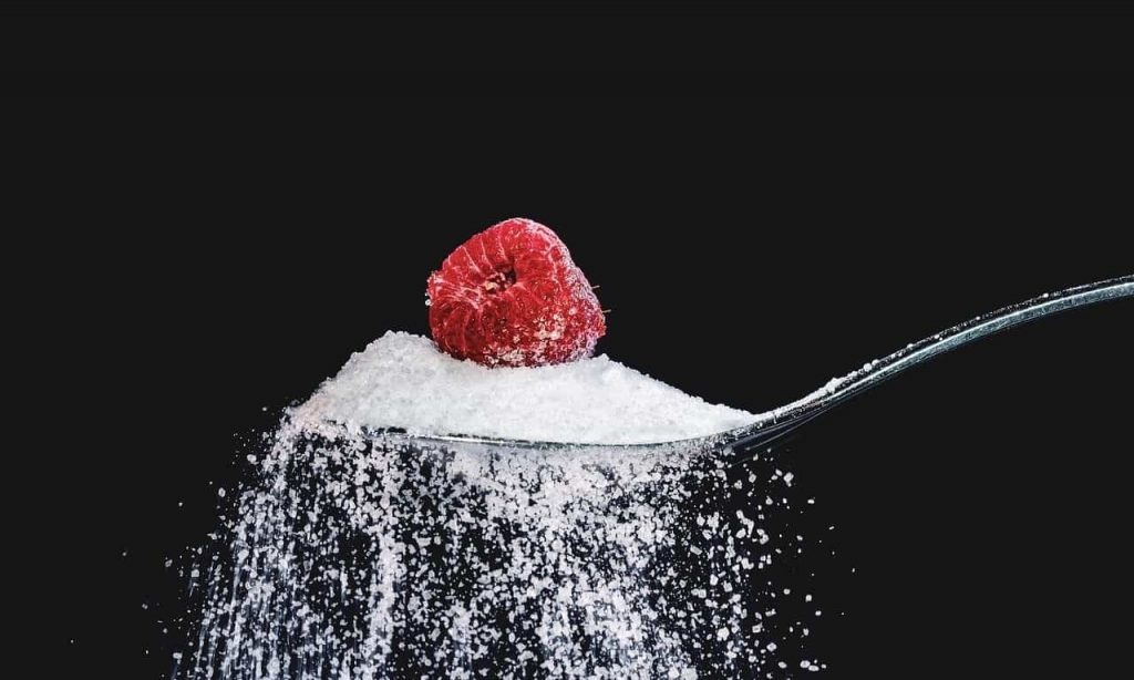 Carbohydrates get broken down into sugars andreleased into the blood dtream